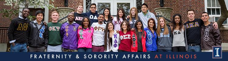 Fraternity & Sorority Affairs at the University of Illinois
