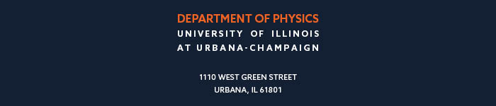Contact Physics, 1100 W. Green St., Urbana, IL 61801