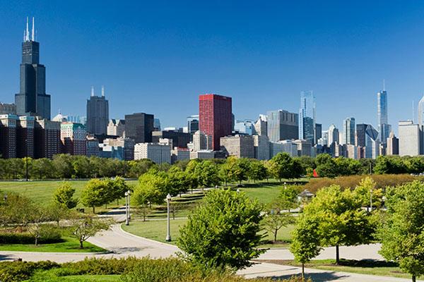 Chicago skyline image courtesy of University of Chicago