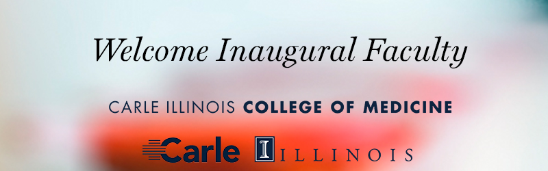Carle Illinois College of Medicine name and logos
