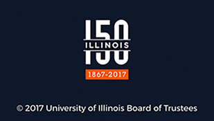 Illinois 150th Anniversary Logo