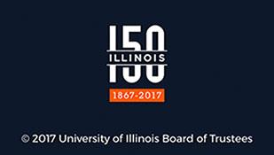 Illinois 150th Anniversary Logo