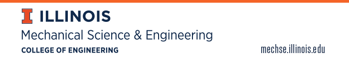 Department of Mechanical Science and Engineering, University of Illinois at Urbana-Champaign