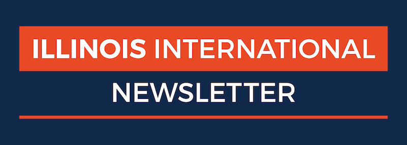 illinois international newsletter header image