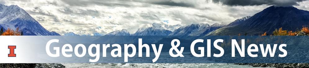 Geography & GIS news