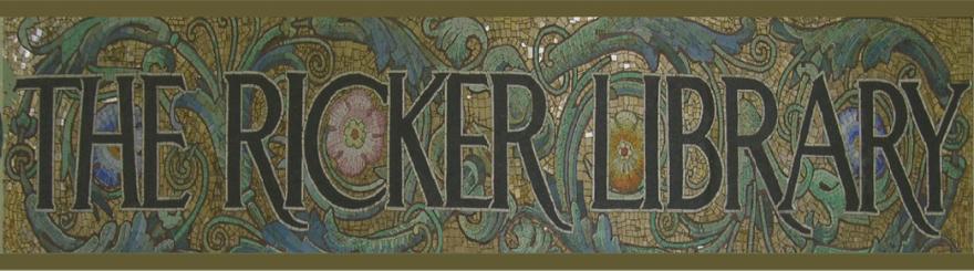 the Ricker Library mosaic