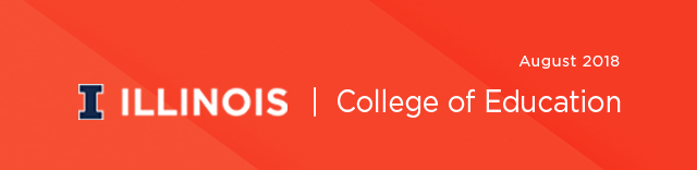 August 2018 College of Education Newsletter
