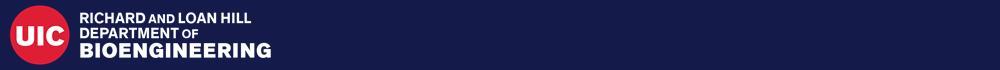 UIC Bioengineering logo header image