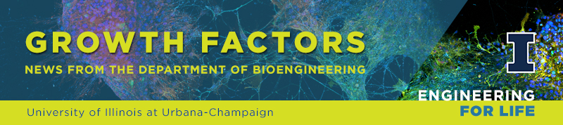 Growth Factors:  News from the Department of Bioengineering at the University of Illinois at Urbana-Champaign