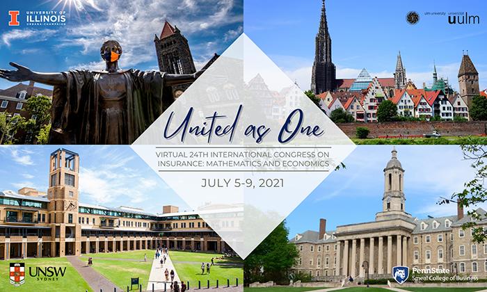 United As One   2021 Virtual International Congress on Insurance: Mathematics and Economics