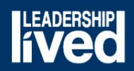 "UIS tagline ""Leadership Lived"""
