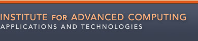 Institute for Advanced Computing Applications and Technologies logo; Go to Homepage